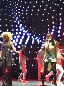 """The end of the show already?  Little Big Town and Pharell Williams performed """"Night Owl"""" to close out the CMT Awards."""