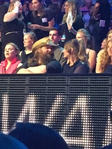 How cute are Chris and Morgane at the CMT Awards.