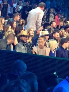 Another commercial break photo.  Jason Aldean at the CMT Awards