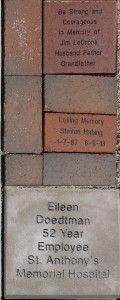 The HSHS St. Anthony's Foundation offers commemorative pavers to honor a loved one or support The Healing Garden, an area of sanctuary and solace for all who wish to visit it. Pavers are now being placed in the walkway/landscaping area across from the entrance to the Prairie Heart Institute. The next paver order will be placed on September 8.